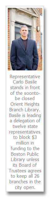 Basile helps lead House effort to prevent closings