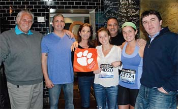 Somber Celebration: Nicole Modica Ran in Race on Monday and Was Unharmed