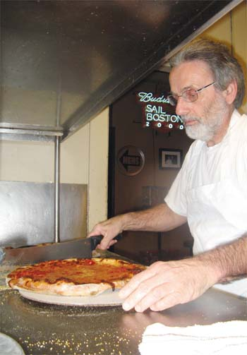 The Word Is Now out: Santarpio's Pizza Receives High Award for Its Pizza