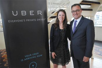 Uber Ferry Service Launched in East Boston