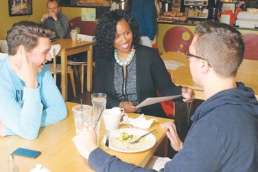Councilor Pressley Sees Connections, Solutions in Next Term