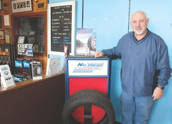 NU Chapter:Katz is Closing His Tire and Auto Repair Business
